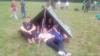 извиђачи шатор