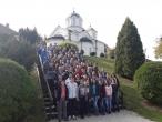 Посета Кона манастиру, 45. класа